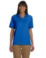 Devon & Jones® Ladies' Tipped Perfect Pima Interlock Polo