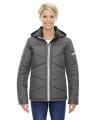 North End® Ladies' Avant Tech Mélange Insulated Jacket with Heat Reflect Technology