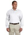 Devon & Jones® Men's Pima Piqué Long-Sleeve Polo