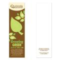 """Growing Green"" Earth Day Seed Paper Bookmark"