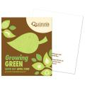 """Growing Green"" Earth Day Seed Paper Flat Card"